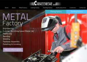 web3d, בניית אתרים בוורדפרס, עיצוב אתר אינטרנט, כרמוכרום