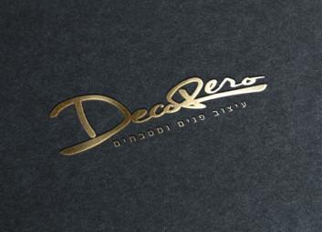 מיתוג עסקי – עיצוב גרפי – Decorero פרויקט