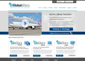 Web3D   עיצוב אתר אינטרנט לדוגמה: Global eDocs