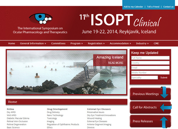 Web3D | בניית אתרים | עיצוב אתר: ISOPT
