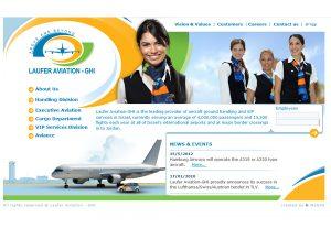 Web3D | הקמת אתרים | אתר לדוגמה: Laufer Aviation