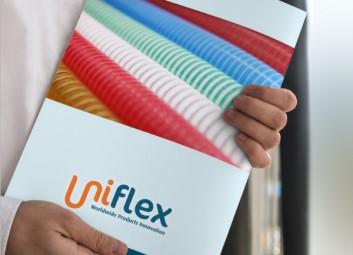 עיצוב גרפי לדפוס – קטלוג מוצרים של Uniflex פרויקט