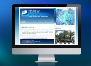 tav medical, הקמת אתר וורדפרס, בניית אתר תדמית