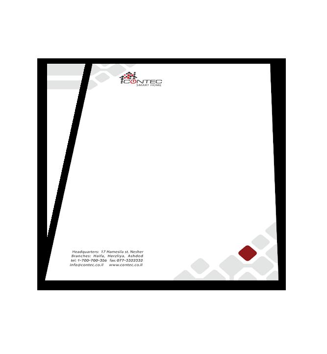 Web3D - מיתוג עסקי | עיצוב גרפי- Contec