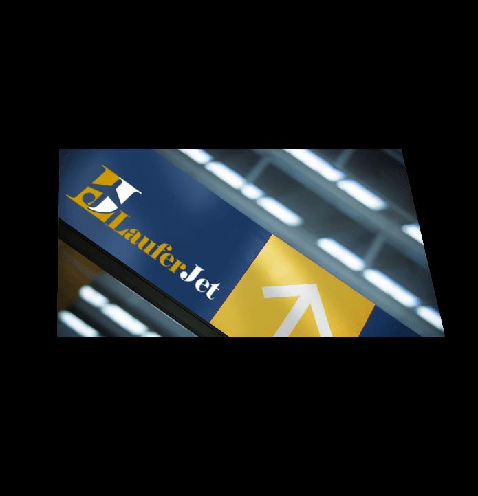 Web3D - מיתוג עסקי | עיצוב גרפי- LauferJet
