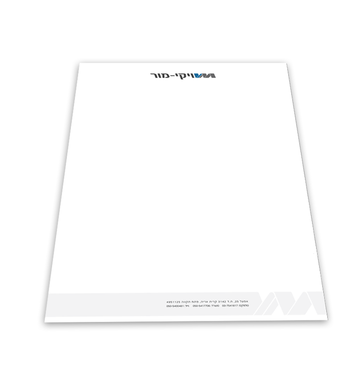 Web3D - מיתוג עסקי | עיצוב - ויקי מור