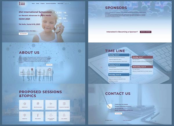 הקמת אתר אינטרנט, כנסים רפואיים, paragon