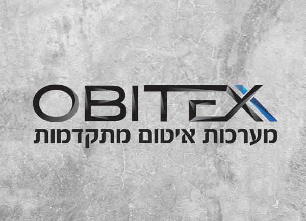 עיצוב לוגו, obitex, web3d
