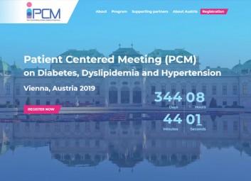 Website Builder: 2018 PCM Conference פרויקט