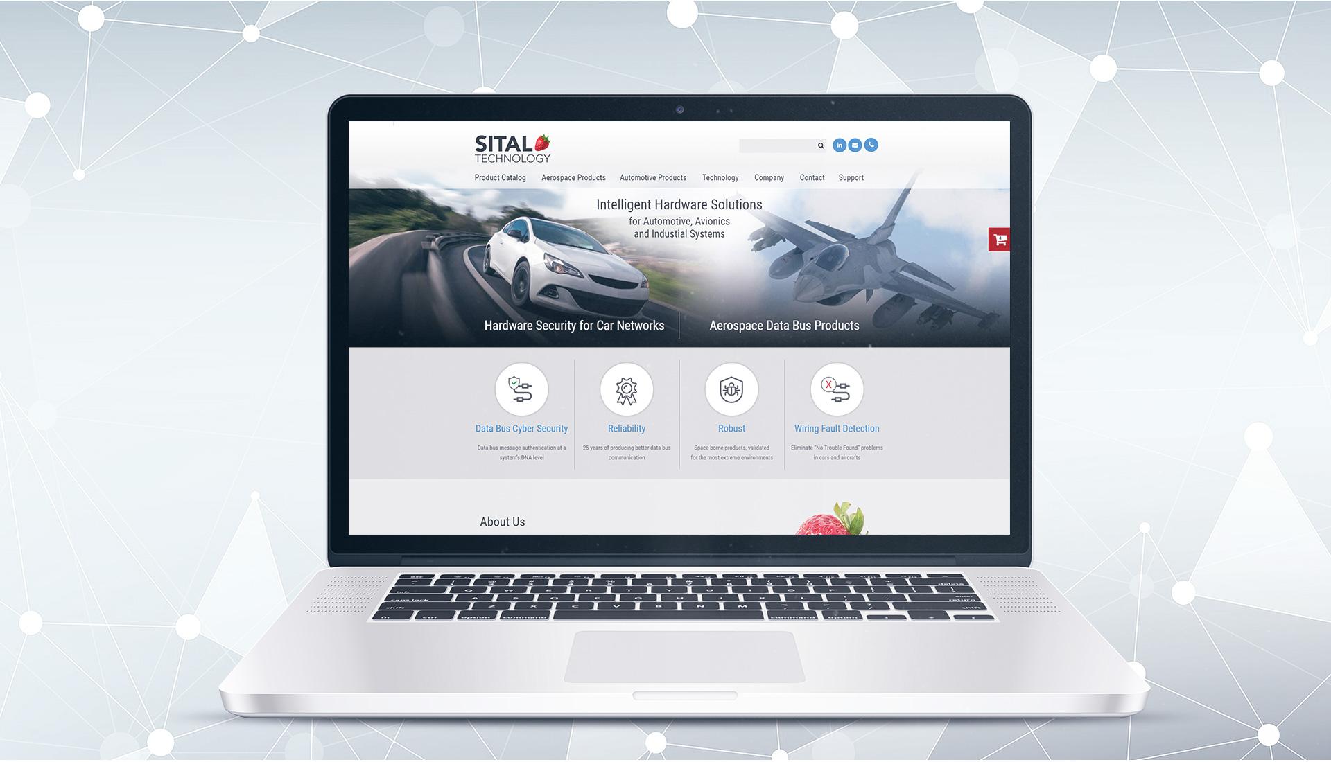 פרויקט Website: Sital
