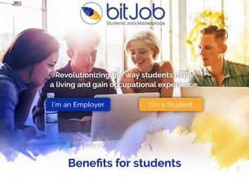 Website creation: bitjob פרויקט