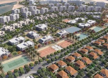 הדמיות חוץ | הדמיית שכונות | מבט על | מתחם 9 בשדרות פרויקט
